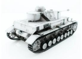 Р/У танк Taigen 1/16 Panzerkampfwagen IV Ausf.F2.Sd.Kfz (Германия) 2.4G RTR, зимний камуфляж 1
