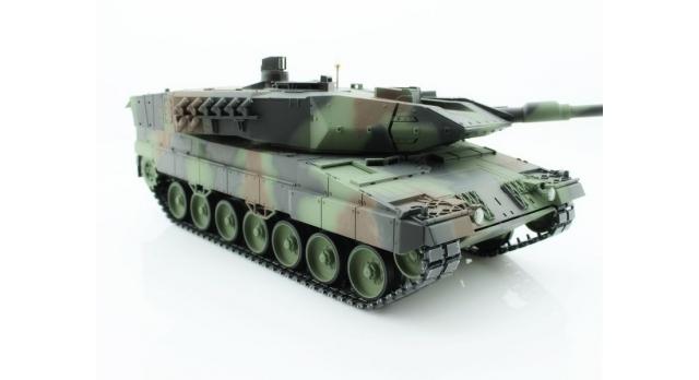 Р/У танк Taigen 1/16 Leopard 2 A6 (Германия) САМО 2.4G RTR, деревянная коробка 4