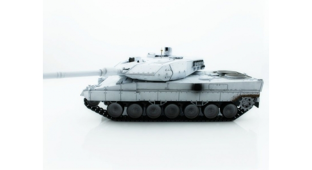 Р/У танк Taigen 1/16 Leopard 2 A6 (Германия) (для ИК танкового боя) UN 2.4G RTR, деревянная коробка 2