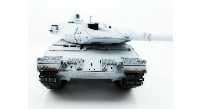 Р/У танк Taigen 1/16 Leopard 2 A6 (Германия) (для ИК танкового боя) UN 2.4G RTR, деревянная коробка 4