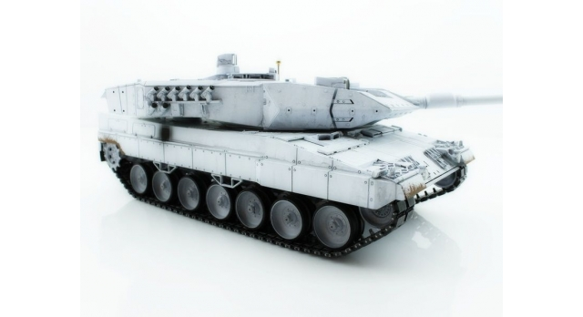 Р/У танк Taigen 1/16 Leopard 2 A6 (Германия) (для ИК танкового боя) UN 2.4G RTR, деревянная коробка 5