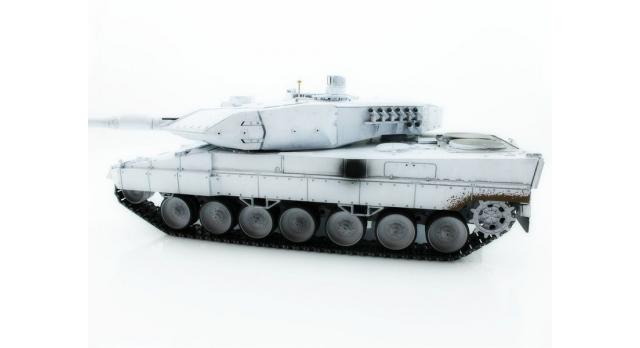 Р/У танк Taigen 1/16 Leopard 2 A6 (Германия) (для ИК танкового боя) UN 2.4G RTR, деревянная коробка 8