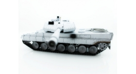 Р/У танк Taigen 1/16 Leopard 2 A6 (Германия) (для ИК танкового боя) UN 2.4G RTR, деревянная коробка 9