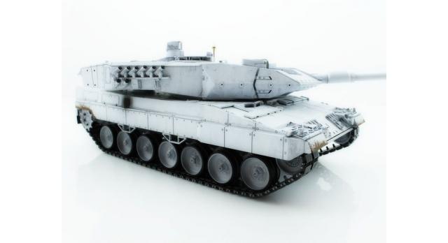 Р/У танк Taigen 1/16 Leopard 2 A6 (Германия) UN 2.4G RTR, деревянная коробка 5