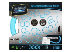 Р/У трек гоночный в трубе 022-2 Chariots Speed Pipes (светится в темноте) 24 детали 1