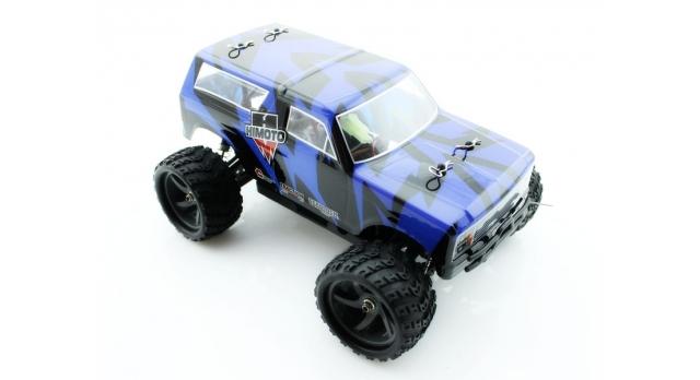 Радиоуправляемый монстр Himoto Tracker Brushless 4WD 2.4G 1/18 RTR 3