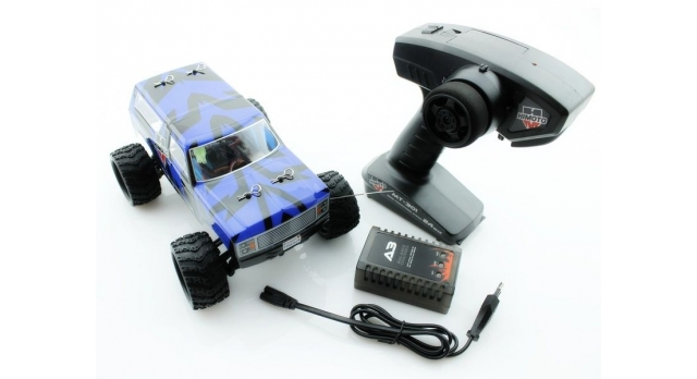 Радиоуправляемый монстр Himoto Tracker Brushless 4WD 2.4G 1/18 RTR 10