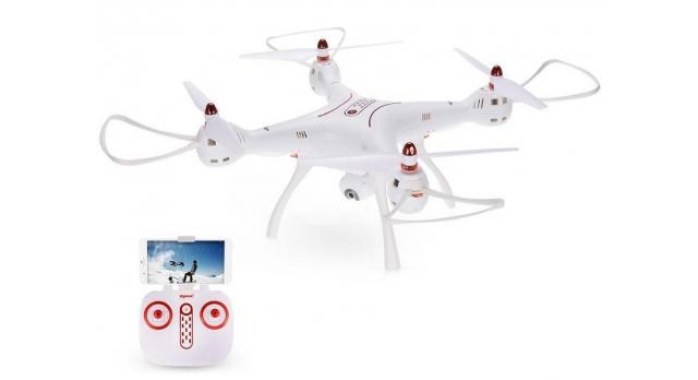Р/У квадрокоптер Syma X8SW-D с FPV трансляцией Wi-Fi, барометр 2.4G RTF 11