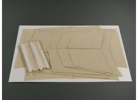 Комплект дополнительных парусов для модели HMS Victory, 1/96