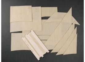 Комплект парусов для моделей Santa Maria и Nina, 1/96
