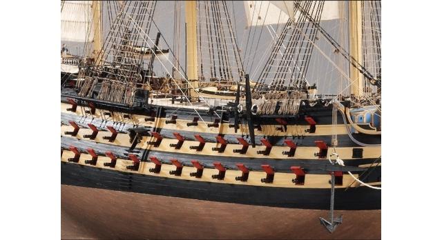 Сборная картонная модель Shipyard линкор HMS Victory (№67), 1/96 2