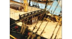 Сборная картонная модель Shipyard линкор HMS Victory (№67), 1/96 4