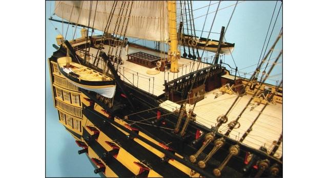 Сборная картонная модель Shipyard линкор HMS Victory (№67), 1/96 5