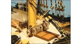 Сборная картонная модель Shipyard линкор HMS Victory (№67), 1/96 7