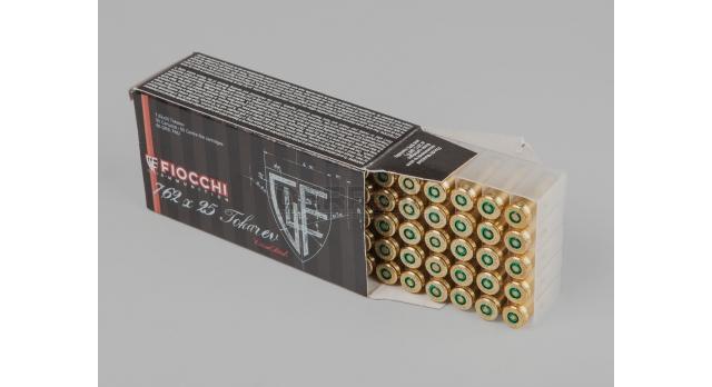 Комплект 7.62х25-мм пуля с капсюлированной гильзой / Новый оболоченная пуля с биметалической гильзой FIOCCHI [мт-533]