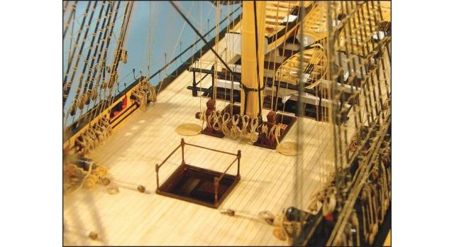 Сборная картонная модель Shipyard линкор HMS Victory (№67), 1/96 11
