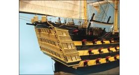 Сборная картонная модель Shipyard линкор HMS Victory (№67), 1/96 13