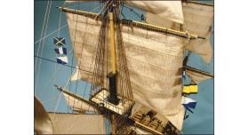 Сборная картонная модель Shipyard линкор HMS Victory (№67), 1/96 14