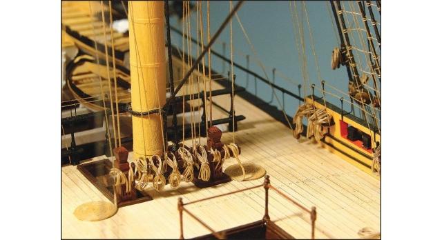 Сборная картонная модель Shipyard линкор HMS Victory (№67), 1/96 16