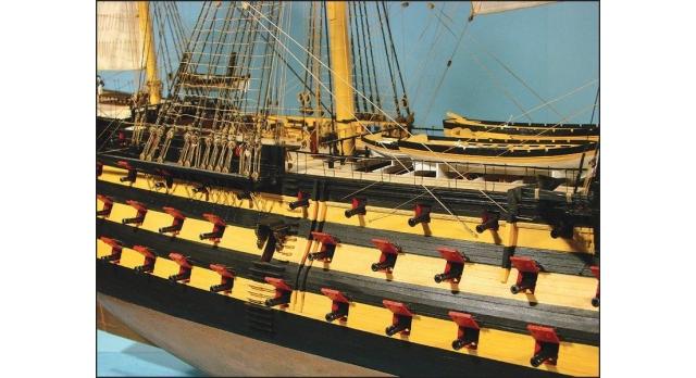 Сборная картонная модель Shipyard линкор HMS Victory (№67), 1/96 17