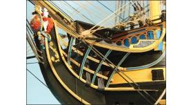 Сборная картонная модель Shipyard линкор HMS Victory (№67), 1/96 18