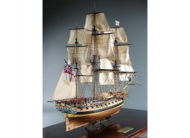 Сборная картонная модель Shipyard фрегат HMS Enterprize (№69), 1/96 1