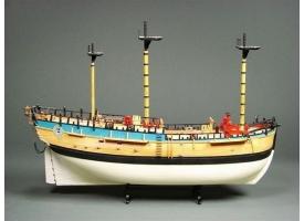 Сборная картонная модель Shipyard барк HMB Endeavour (№33), 1/96 1