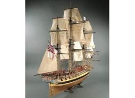 Сборная картонная модель Shipyard фрегат HMS Mercury (№66), 1/96 1