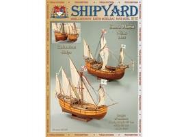 Сборные бумажные модели Shipyard каракка Santa Maria и каравелла Nina (№65), 1/96