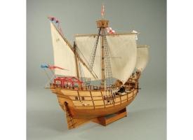 Сборная картонная модель Shipyard каравелла Pinta (№64), 1/96 1