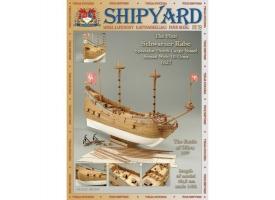 Сборная картонная модель Shipyard флейт Schwarzer Rabe (№39), 1/96
