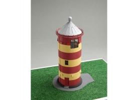 Сборная картонная модель Shipyard маяк Pilsumer Lighthouse (№45), 1/87 1