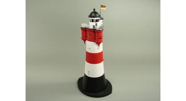 Сборная картонная модель Shipyard маяк Roter Sand Lighthouse (№46), 1/87 2