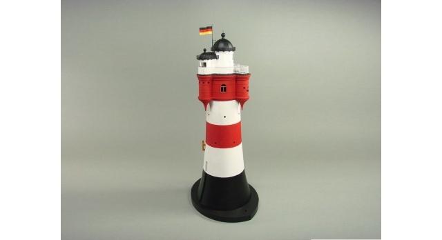 Сборная картонная модель Shipyard маяк Roter Sand Lighthouse (№46), 1/87 3