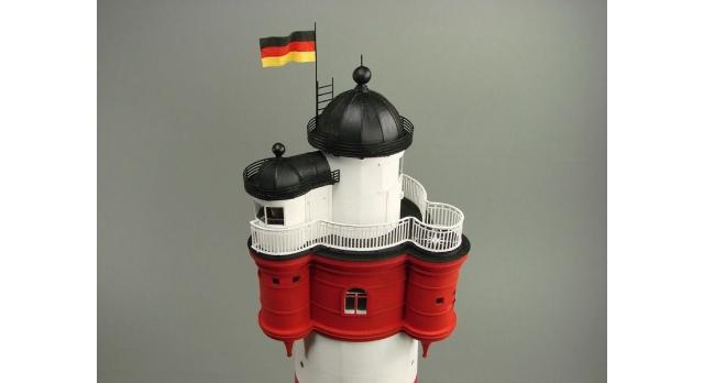 Сборная картонная модель Shipyard маяк Roter Sand Lighthouse (№46), 1/87 4