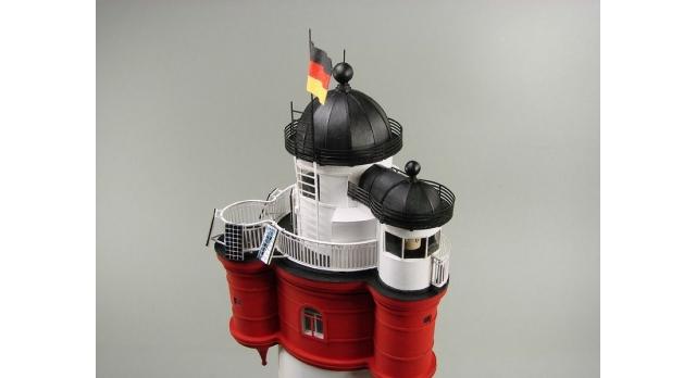 Сборная картонная модель Shipyard маяк Roter Sand Lighthouse (№46), 1/87 8