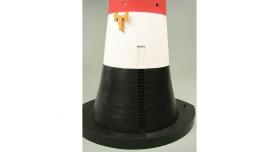 Сборная картонная модель Shipyard маяк Roter Sand Lighthouse (№46), 1/87 9