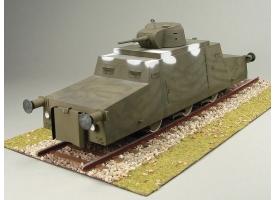 Сборная картонная модель Shipyard бронедрезина Zeppelin (№47), 1/25 1