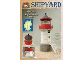 Сборная картонная модель Shipyard маяк Gellen Lighthouse (№48), 1/87