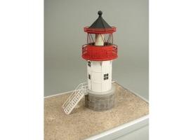 Сборная картонная модель Shipyard маяк Gellen Lighthouse (№48), 1/87 1