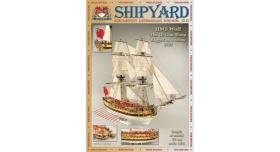 Сборная картонная модель Shipyard шлюп HMS Wolf (№49), 1/96 1