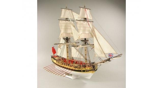 Сборная картонная модель Shipyard шлюп HMS Wolf (№49), 1/96 3