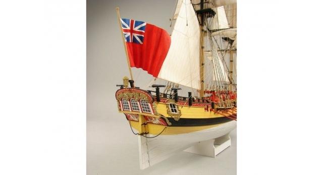 Сборная картонная модель Shipyard шлюп HMS Wolf (№49), 1/96 4