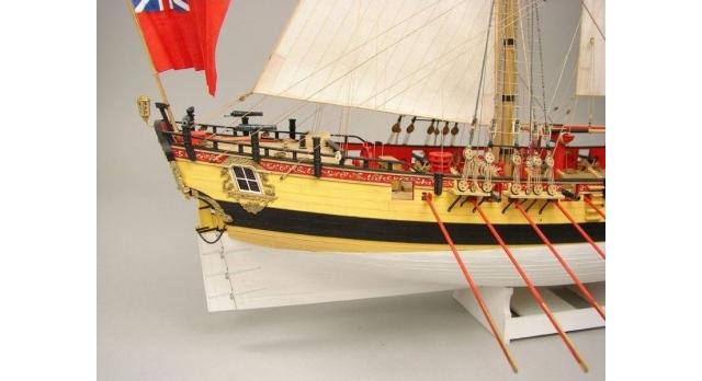 Сборная картонная модель Shipyard шлюп HMS Wolf (№49), 1/96 5