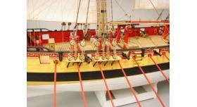 Сборная картонная модель Shipyard шлюп HMS Wolf (№49), 1/96 6