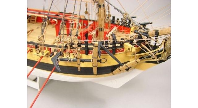 Сборная картонная модель Shipyard шлюп HMS Wolf (№49), 1/96 7
