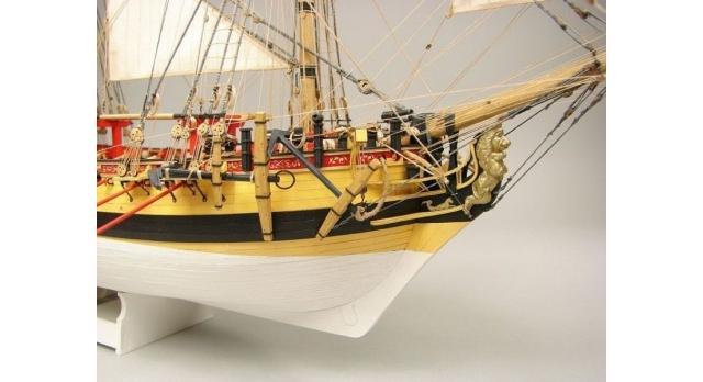 Сборная картонная модель Shipyard шлюп HMS Wolf (№49), 1/96 8
