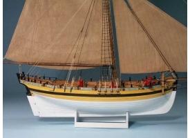 Сборная картонная модель Shipyard куттер HMS Alert (№50), 1/96 1