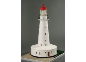 Сборная картонная модель Shipyard маяк North Reef Lighthouse (№55), 1/87 1