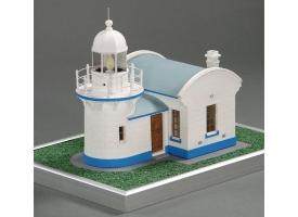 Сборная картонная модель Shipyard маяк Crowdy Head Lighthouse (№56), 1/87 1
